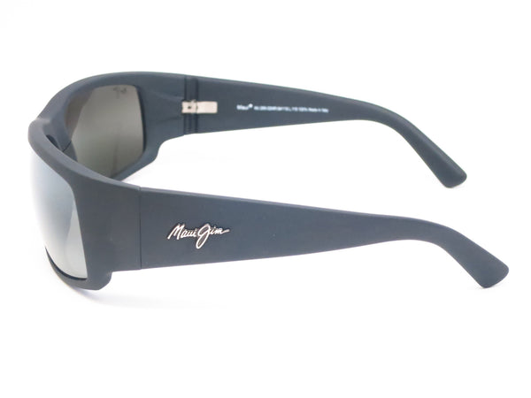 Maui Jim World Cup MJ 266-02MR Dark Gunmetal/Black Polarized Sunglasses - Eye Heart Shades - Maui Jim - Sunglasses - 4