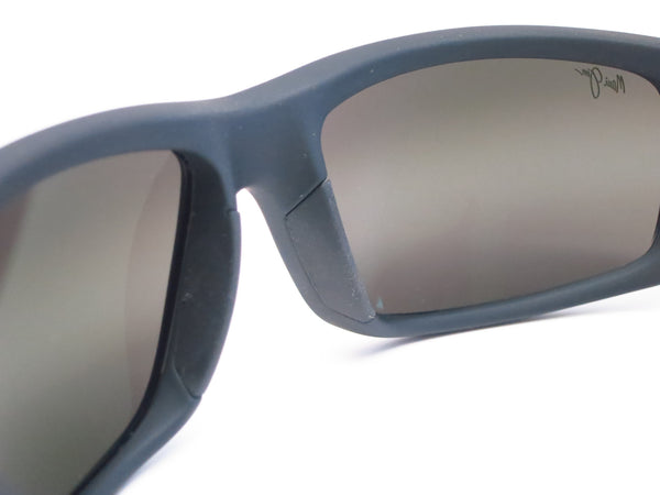 Maui Jim World Cup MJ 266-02MR Dark Gunmetal/Black Polarized Sunglasses - Eye Heart Shades - Maui Jim - Sunglasses - 5