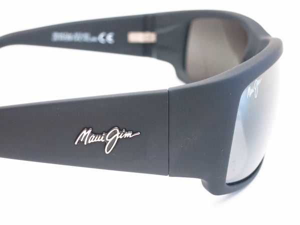 Maui Jim World Cup MJ 266-02MR Dark Gunmetal/Black Polarized Sunglasses - Eye Heart Shades - Maui Jim - Sunglasses - 8