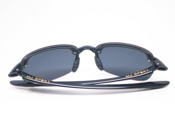 Maui Jim Sandy Beach 408-02 Gloss Black Polarized Sunglasses - Eye Heart Shades - Maui Jim - Sunglasses - 11