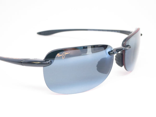 Maui Jim Sandy Beach 408-02 Gloss Black Polarized Sunglasses - Eye Heart Shades - Maui Jim - Sunglasses - 4