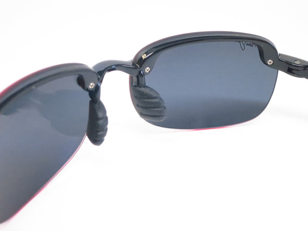 Maui Jim Sandy Beach 408-02 Gloss Black Polarized Sunglasses - Eye Heart Shades - Maui Jim - Sunglasses - 5