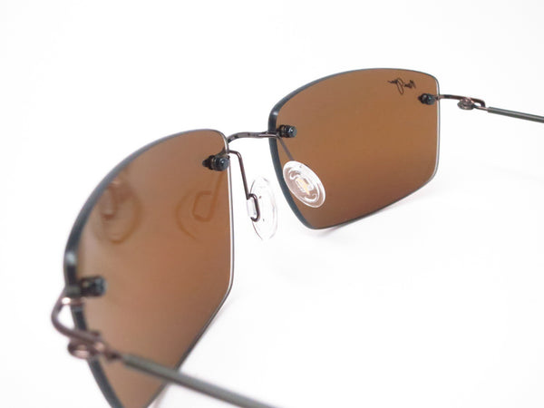 Maui Jim Sandhill H715-25A Gloss Dark Brown / Brown Sleeve Polarized Sunglasses - Eye Heart Shades - Maui Jim - Sunglasses - 4