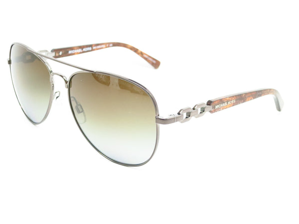 Michael Kors MK 1003 Fiji 1002/T5 Gunmetal Polarized Sunglasses - Eye Heart Shades - Michael Kors - Sunglasses - 1