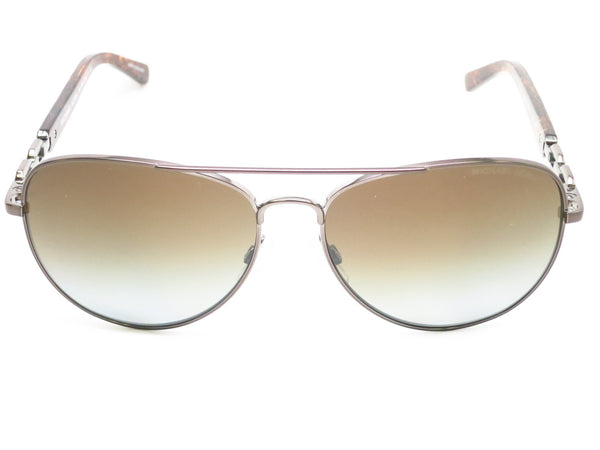 cb8de685d5 Michael Kors MK 1003 Fiji 1002 T5 Gunmetal Polarized Sunglasses - Eye Heart  Shades
