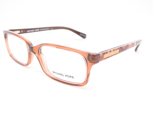Michael Kors MK 8006 Medellin 3011 Milky Brown Snake Eyeglasses - Eye Heart Shades - Michael Kors - Eyeglasses - 1