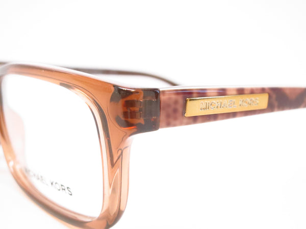 Michael Kors MK 8006 Medellin 3011 Milky Brown Snake Eyeglasses - Eye Heart Shades - Michael Kors - Eyeglasses - 3