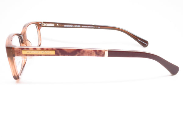 Michael Kors MK 8006 Medellin 3011 Milky Brown Snake Eyeglasses - Eye Heart Shades - Michael Kors - Eyeglasses - 5