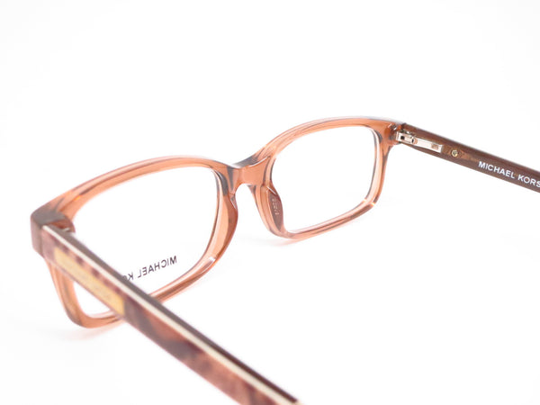 Michael Kors MK 8006 Medellin 3011 Milky Brown Snake Eyeglasses - Eye Heart Shades - Michael Kors - Eyeglasses - 6