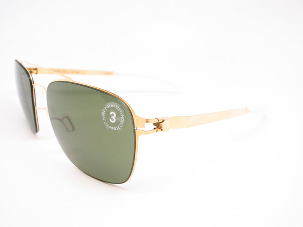 Mykita Dan No.1 Sun 013 Glossy Gold Polarized Sunglasses - Eye Heart Shades - Mykita - Sunglasses - 1