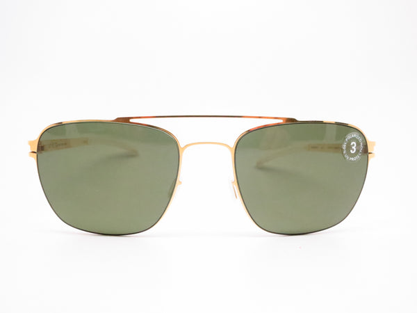 Mykita Dan No.1 Sun 013 Glossy Gold Polarized Sunglasses - Eye Heart Shades - Mykita - Sunglasses - 2