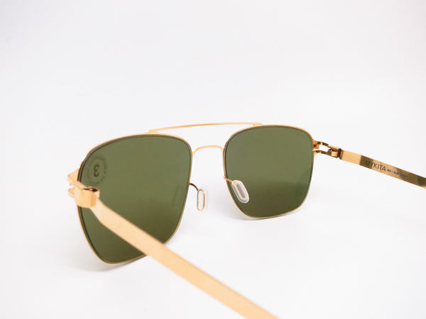 Mykita Dan No.1 Sun 013 Glossy Gold Polarized Sunglasses - Eye Heart Shades - Mykita - Sunglasses - 6