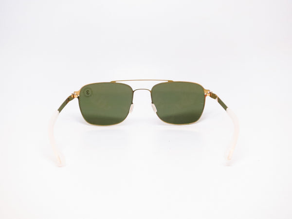 Mykita Dan No.1 Sun 013 Glossy Gold Polarized Sunglasses - Eye Heart Shades - Mykita - Sunglasses - 7