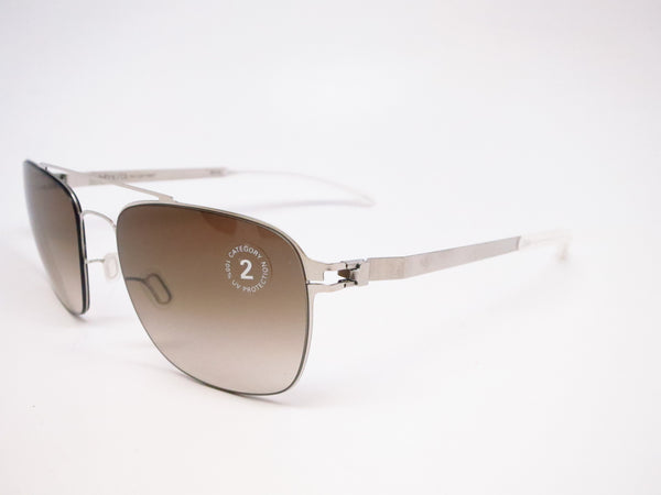 Mykita Dan No.1 Sun 051 Shiny Silver Sunglasses - Eye Heart Shades - Mykita - Sunglasses - 1