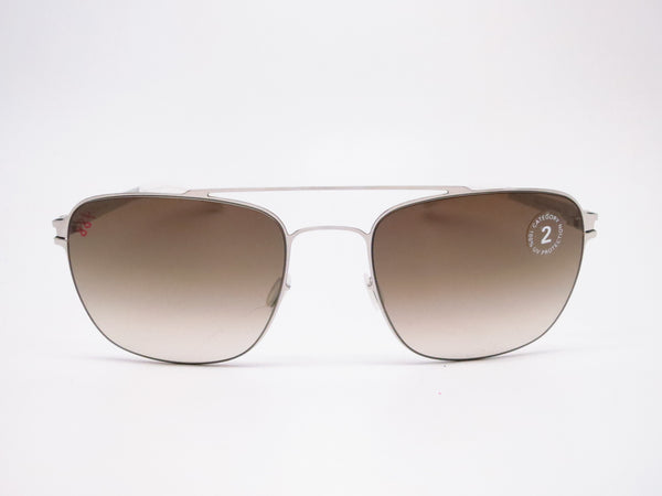 Mykita Dan No.1 Sun 051 Shiny Silver Sunglasses - Eye Heart Shades - Mykita - Sunglasses - 2