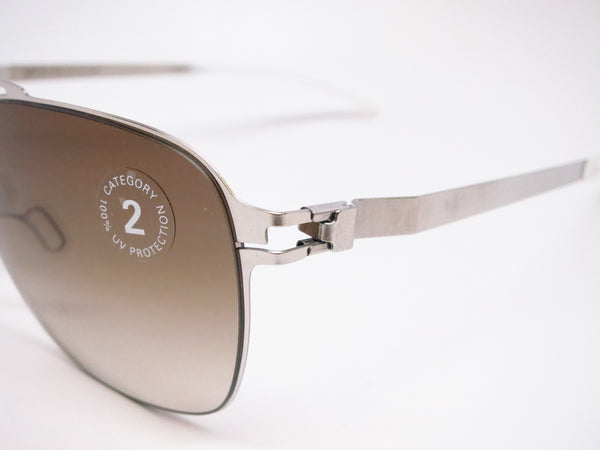 Mykita Dan No.1 Sun 051 Shiny Silver Sunglasses - Eye Heart Shades - Mykita - Sunglasses - 3