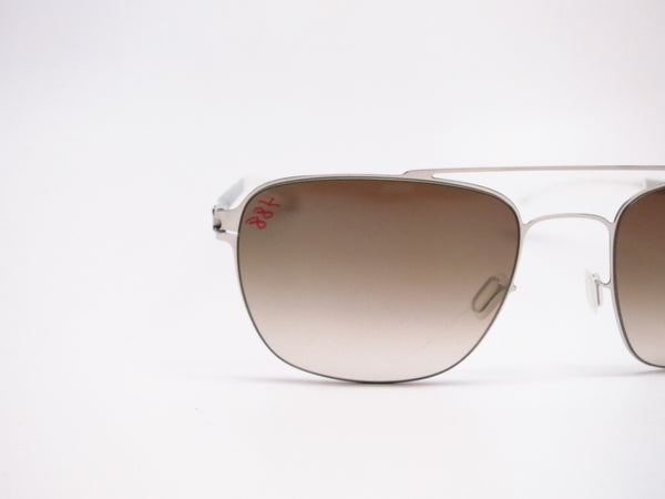 Mykita Dan No.1 Sun 051 Shiny Silver Sunglasses - Eye Heart Shades - Mykita - Sunglasses - 4