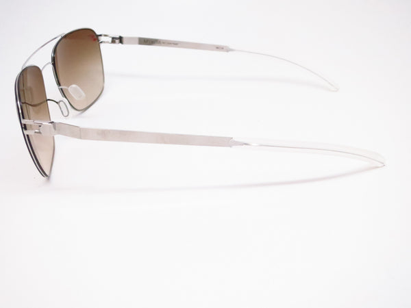 Mykita Dan No.1 Sun 051 Shiny Silver Sunglasses - Eye Heart Shades - Mykita - Sunglasses - 5