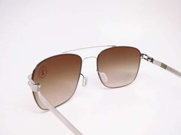 Mykita Dan No.1 Sun 051 Shiny Silver Sunglasses - Eye Heart Shades - Mykita - Sunglasses - 6