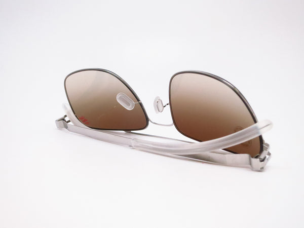 Mykita Dan No.1 Sun 051 Shiny Silver Sunglasses - Eye Heart Shades - Mykita - Sunglasses - 8