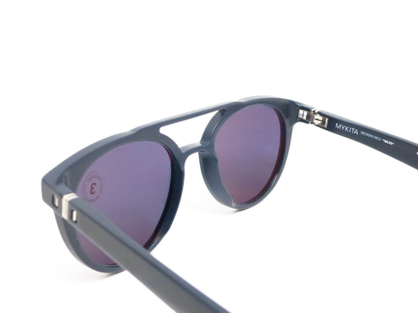 Mykita Giles Decades Sun 307 Matte Dark Blue Sunglasses - Eye Heart Shades - Mykita - Sunglasses - 6