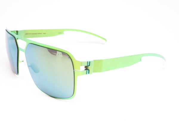 Mykita Bernard Willhelm Heinz Limegreen w/Flash Mirror Sunglasses - Eye Heart Shades - Mykita - Sunglasses - 1