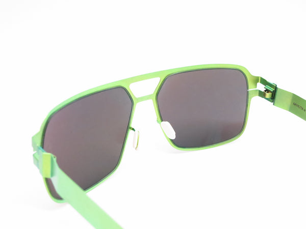 Mykita Bernard Willhelm Heinz Limegreen w/Flash Mirror Sunglasses - Eye Heart Shades - Mykita - Sunglasses - 6
