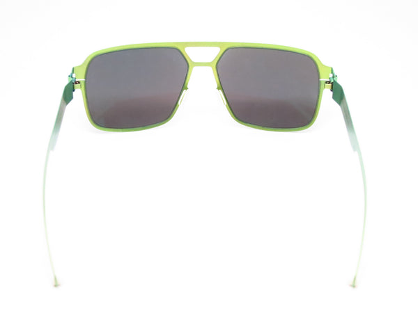 Mykita Bernard Willhelm Heinz Limegreen w/Flash Mirror Sunglasses - Eye Heart Shades - Mykita - Sunglasses - 7