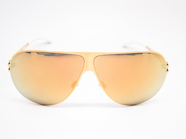 Mykita Hubert F9 Gold w/Gold Flash Sunglasses - Eye Heart Shades - Mykita - Sunglasses - 2