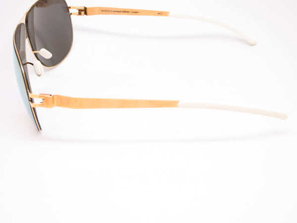 Mykita Hubert F9 Gold w/Gold Flash Sunglasses - Eye Heart Shades - Mykita - Sunglasses - 5