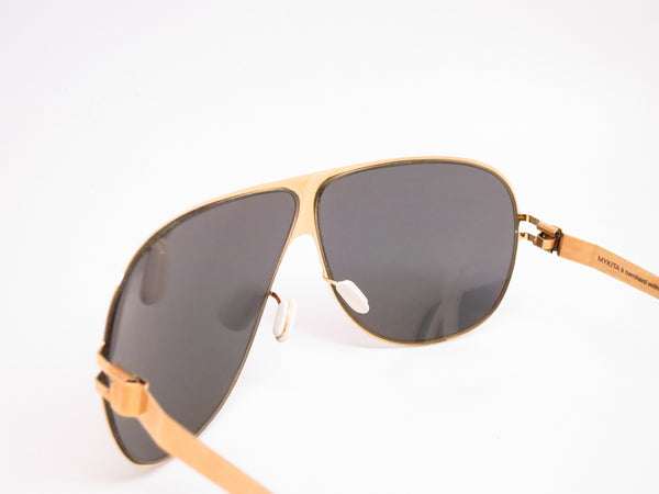 Mykita Hubert F9 Gold w/Gold Flash Sunglasses - Eye Heart Shades - Mykita - Sunglasses - 6