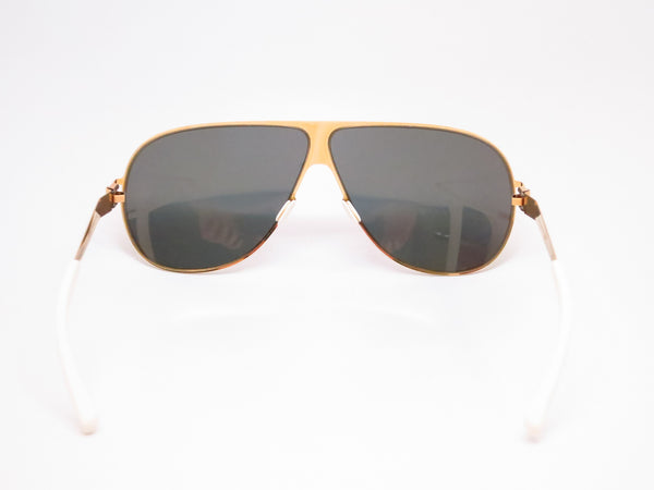 Mykita Hubert F9 Gold w/Gold Flash Sunglasses - Eye Heart Shades - Mykita - Sunglasses - 7