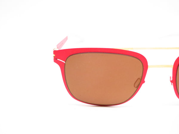 Mykita Hunter 147 Gold/Coral Red Decades Sun Sunglasses - Eye Heart Shades - Mykita - Sunglasses - 4
