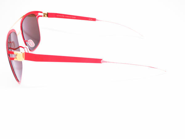 Mykita Hunter 147 Gold/Coral Red Decades Sun Sunglasses - Eye Heart Shades - Mykita - Sunglasses - 5
