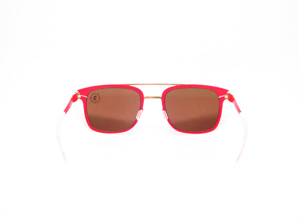Mykita Hunter 147 Gold/Coral Red Decades Sun Sunglasses - Eye Heart Shades - Mykita - Sunglasses - 7