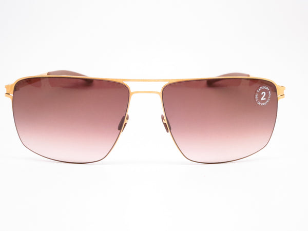 Mykita Owen No.1 Sun 013 Glossy Gold Sunglasses - Eye Heart Shades - Mykita - Sunglasses - 2