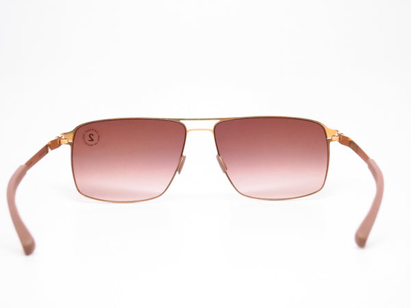 Mykita Owen No.1 Sun 013 Glossy Gold Sunglasses - Eye Heart Shades - Mykita - Sunglasses - 7