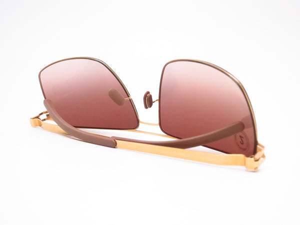Mykita Owen No.1 Sun 013 Glossy Gold Sunglasses - Eye Heart Shades - Mykita - Sunglasses - 8