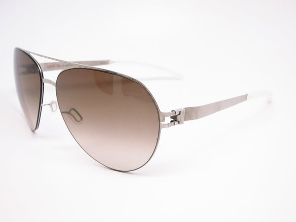 Mykita Sly 007 Silverline w/Olive Gradient No.1 Sun Sunglasses - Eye Heart Shades - Mykita - Sunglasses - 1