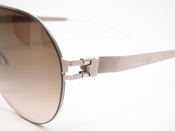 Mykita Sly 007 Silverline w/Olive Gradient No.1 Sun Sunglasses - Eye Heart Shades - Mykita - Sunglasses - 3