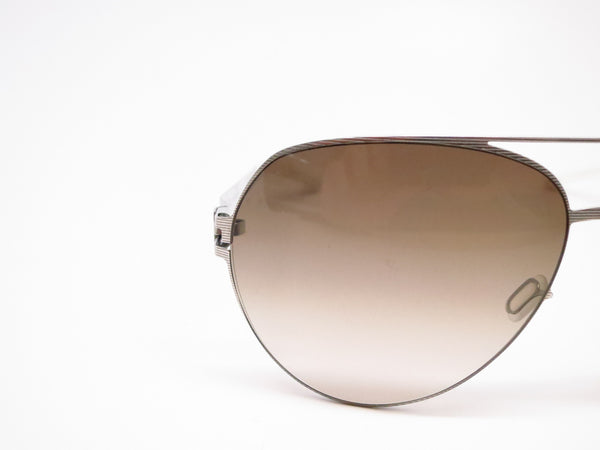 Mykita Sly 007 Silverline w/Olive Gradient No.1 Sun Sunglasses - Eye Heart Shades - Mykita - Sunglasses - 4
