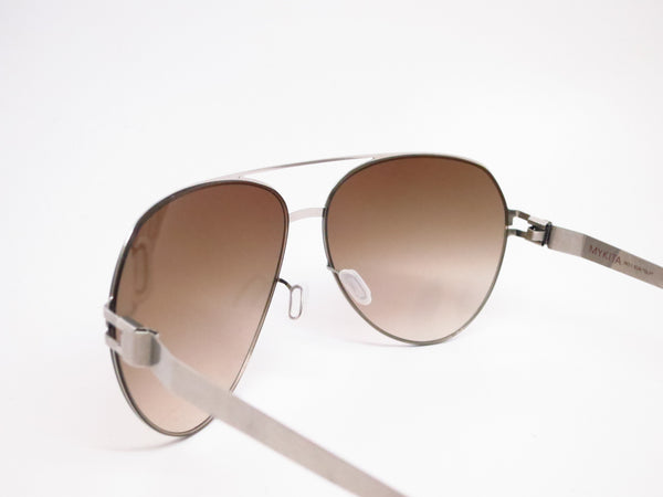 Mykita Sly 007 Silverline w/Olive Gradient No.1 Sun Sunglasses - Eye Heart Shades - Mykita - Sunglasses - 6