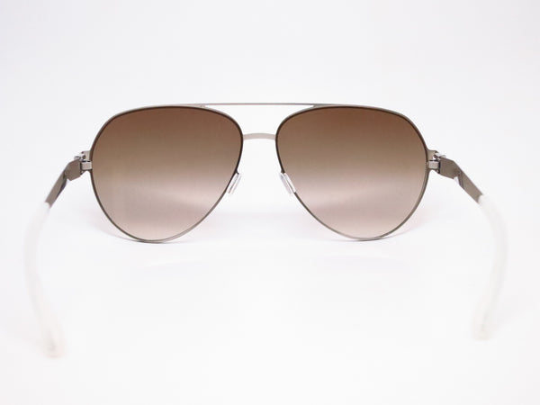 Mykita Sly 007 Silverline w/Olive Gradient No.1 Sun Sunglasses - Eye Heart Shades - Mykita - Sunglasses - 7