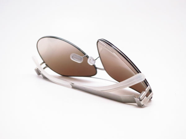 Mykita Sly 007 Silverline w/Olive Gradient No.1 Sun Sunglasses - Eye Heart Shades - Mykita - Sunglasses - 8