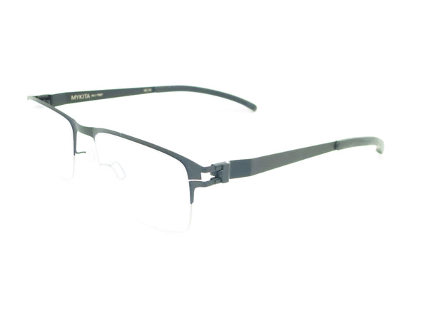 Mykita No.1 Ted 052 Silver / Black Eyeglasses - Eye Heart Shades - Mykita - Eyeglasses - 1