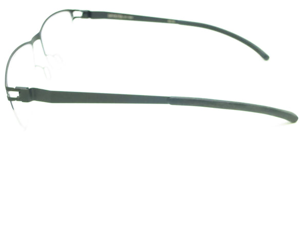 Mykita No.1 Ted 052 Silver / Black Eyeglasses - Eye Heart Shades - Mykita - Eyeglasses - 5
