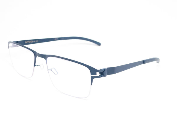 Mykita No.1 Ted Silver / Navy Eyeglasses - Eye Heart Shades - Mykita - Eyeglasses - 1