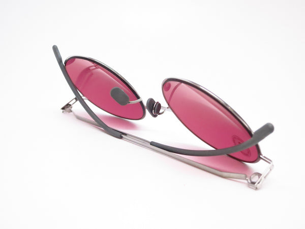 Mykita Lite Sun Teiti 051 Shiny Silver w/Bordeaux Solid Sunglasses - Eye Heart Shades - Mykita - Sunglasses - 8