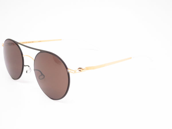 Mykita Lite Sun Tore 172 Gold / Terra w/Dark Brown Solid Sunglasses - Eye Heart Shades - Mykita - Sunglasses - 1