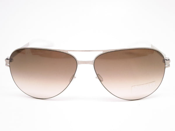 Mykita No1 Sun Tyson 007 Silverline w/Olive Gradient Sunglasses - Eye Heart Shades - Mykita - Sunglasses - 2